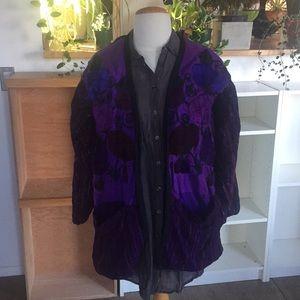 Jackets & Blazers - Boho embroidered jacket size L